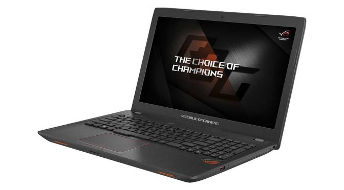 Asus GL553 laptop