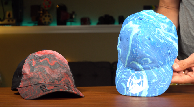 Creating Custom Hats by Hydro Dipping